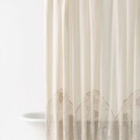Crocheted Arches Shower Curtain - Anthropologie.com