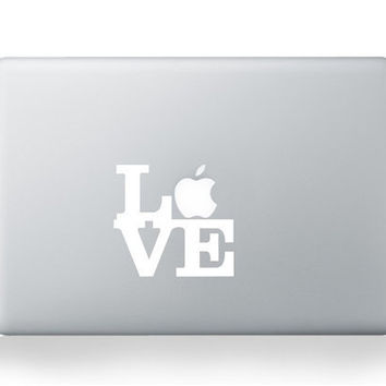 love Macbook Decal Macbook Decals Macbook Sticker Mac by ileiss