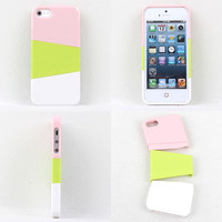 Three color mix case for iphone 4/4s/5