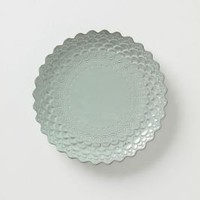 Piecrust Salad Plate - Anthropologie.com