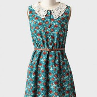 always hope belted floral dress at ShopRuche.com