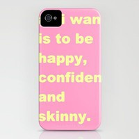 skinny iPhone Case