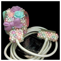 Cute Kawaii Girly Bling Pearl iPhone iPod by HelloKatieCuties