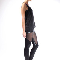 Spartans Sheer Leggings | Black Milk Clothing