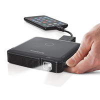 Compact 85-Lumen Pocket Projector