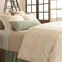 Pine Cone Hill Watercolor Dots Duvet Cover