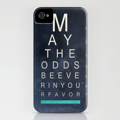 May The Odds Be Ever In Your Favor (Negative) iPhone Case by Ryan James Caruthers | Society6