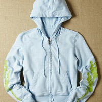 Da-Nang Kids - Cotton Knit Hoodie  - color Liquid