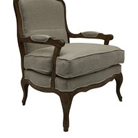 nuLOOM Madeline Linen Arm Chair at MYHABIT