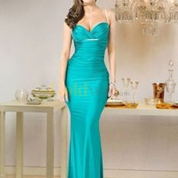 Sweetheart Mermaid Trumpet Satin Evening Gown