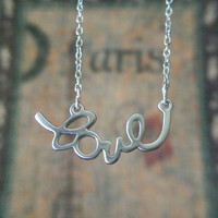 Love Necklace - Love Jewelry