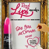 Read My Lips - Mirror Marker