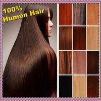 "18"" 20"" 22"" 24"" 26"" Clip In Real 100% Human Hair Extensions 70g 100g 117g"