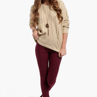 Moto Skinny Jeggings $46