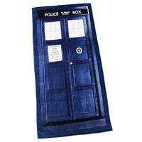 Doctor Who TARDIS Bath/Beach Towel