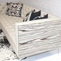 www.roomservicestore.com - Koening Leather Cream Sofa