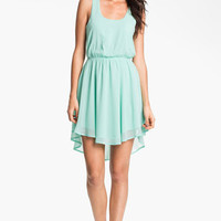 Lush Colorblock Cutout Dress (Juniors) | Nordstrom