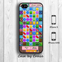 Candy Crush Saga App inspired iPhone 5 Case iPhone 4/4S Case Back Cover --000067