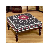 Suzani Ottoman - Chairs & Ottomans - World Market - recommendation by KatieLW - ThisNext