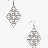 Cutout Geo Earrings | FOREVER 21 - 1031556696