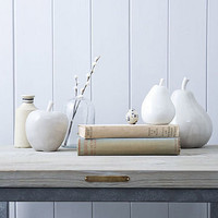 ceramic apple or pear by rowen &amp; wren | notonthehighstreet.com