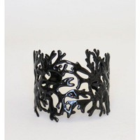 Black Coral Cuff