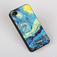 Sky Painting Hard Cover Case For Iphone 4/4s