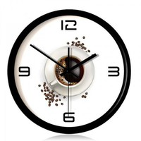Creative Coffee Time Wall Clock