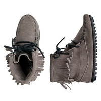 Girls' Minnetonka® Tramper boots - flats & moccasins - Girl's shoes - J.Crew