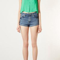 Vintage High Waisted Hotpants - Shorts - Clothing - Topshop USA