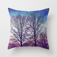 everyday sort of magic  Throw Pillow by Sylvia Cook Photography