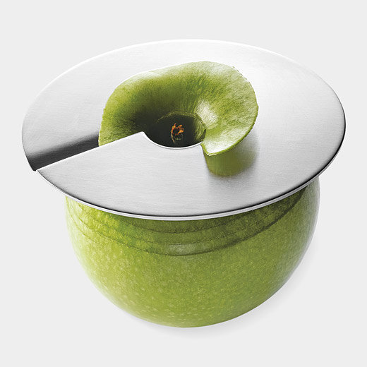 Ingenious Apple Slicer