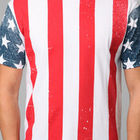 Urban Outfitters - USA Flag Tee