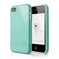 elago S4 Glide Case for AT&amp;T, Sprint and Verizon iPhone 4/4S (Coral Blue) - eco-friendly packaging: Cell Phones &amp; Accessories