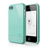 elago S4 Glide Case for AT&T, Sprint and Verizon iPhone 4/4S (Coral Blue) - eco-friendly packaging: Cell Phones & Accessories