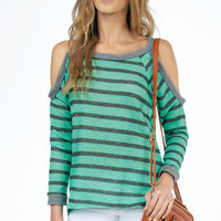 Off Shoulder Sweater $29