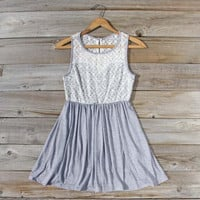 First Light Dress in Gray, Sweet Women&#x27;s Party Dresses