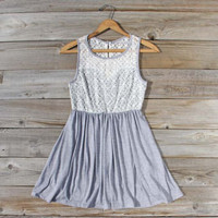 First Light Dress in Gray, Sweet Women's Party Dresses