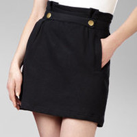 french terry tulip skirt