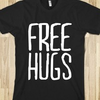 Free Hugs (Dark) - happy hearts