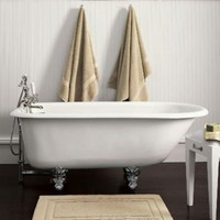 Classic Victorian Clawfoot Tub and Tub Fill with Handheld Shower (shown) | Tubs | Restoration Hardware