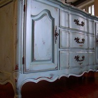 NEW Petite French Provincial Buffet/Dresser in an by Artisan8
