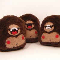 Sasquatch in my Pocket Choose one by loveandasandwich on Etsy
