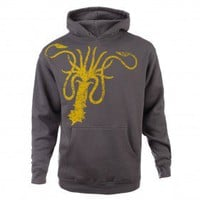 Game of Thrones Greyjoy Distressed Sigil Hoodie