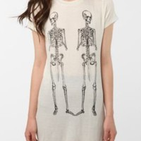 Skeleton Swords Tunic Tee