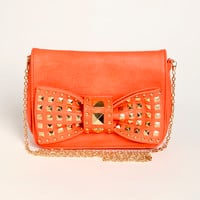 Studded Bow Bag