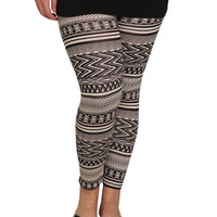 Tribal Print Legging | Shop Jr. Plus at Wet Seal