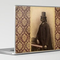 Victorian Vader Laptop & iPad Skin by Terry Fan | Society6