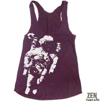 Women&#x27;s SPACE american apparel TriBlend Racerback by ZenThreads