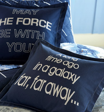 StarWars.com | Star Wars Galaxy Pillow Decorative Sham